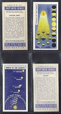 BROOKE BOND - OUT INTO SPACE (ISSUED IN) (NUMBERS 26-50) PLEASE SELECT YOUR CARD