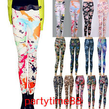 Womens Lady's Punk Sexy Funky Stretchy Fit Leggings Tight Pencil Skinny Pants