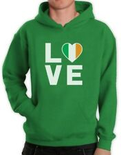 I Love Ireland - Irish Pride Flag of Ireland Gift Idea Hoodie Novelty Gift