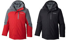 NWT COLUMBIA MEN'S LHOTSE II Interchange 3 IN 1 Jacket, S-M-L-XL