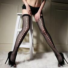 Thigh High Stockings Women Sexy Small Mesh Top Stockings Thigh Highs Hosiery New