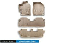 TAN All Weather Floor Liners 3 Rows Custom Fit MAXLINER Mats 1st 2nd Rows