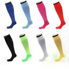 Men Women THICKEN Winter Soccer Football Rugby Sports Knee High Sport Tube Socks