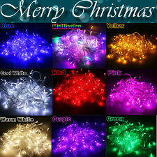 10M/100 20M/200 LED Bulbs Fairy Bright Xmas String Lights Decor Christmas Lamps