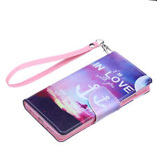 Leather Wallet Card Case Flip Cover Purse Housing for iphone 4 5 S 6 &6 Plus