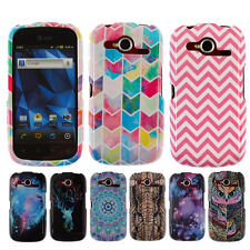 For AT&T Pantech Burst P9070 Various Patterned Snap On HARD Case Cover Accessory