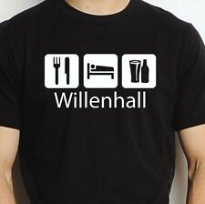 WILLENHALL EAT SLEEP DRINK WILLENHALL PERSONALISED T SHIRT