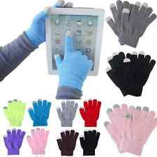 Soft Unisex Magic Touch Screen Gloves Smart Phone Tablet Knit Warmer Mittens FT5
