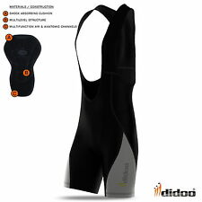 Mens new cycling bib shorts Coolmax padding cycle pant top quality bike jersey