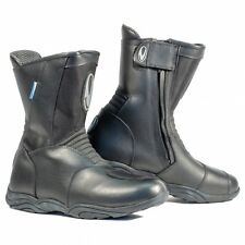 RICHA MONZA TOURING WATERPROOF BOOTS MOTORCYCLE MOTORBIKE ALL SIZES NEW BLACK