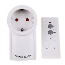 1 Pack Wireless Remote Control Outlet Electrical Power Light Switch Plug Socket
