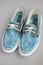 NEW Sperry Top-Sider Bahama Boat Mens Shoes (Hawaii Blue Print)