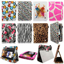 PU Leather Rotating Flip Folio Stand Design Case Cover For Samsung Kindle Tablet