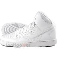 Shoes Nike Son Of Force Mid Gs 615158 109 Boys Girls White Basket Moda sneakers