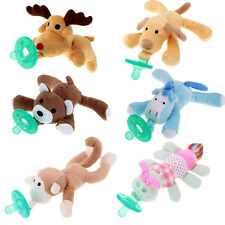 Saling Baby Pacifier Soother Baby Toy Funny Pacifiers Animal Funny Plush Toys