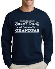 Great Dads Get Promoted To Grandpas - Gift for New Grandads Sweatshirt