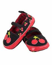 Cherry Mary Janes Shoes Toddler Baby Crib Rockabilly Cute Punk Alternative Gift