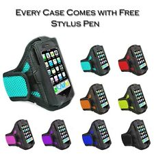 Sports Gym Velcro Net Armband Holder Case Cover For Samsung Galaxy S2 i9100 uk