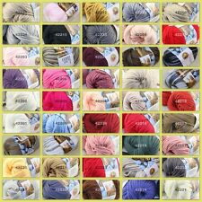 Sale New 1 balls x 50g Soft Worsted Cotton Chunky Bulky Hand Knitting Quick Yarn