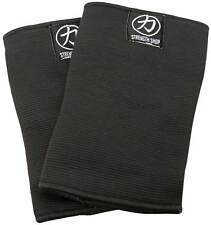 Strength Shop Thor Double Ply Elbow Sleeves - BLACK - Strongman Powerlifting
