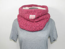 Superdry Loop scarf Nep Cable Snood GS9HK031 Coral NEP pink + new + one size