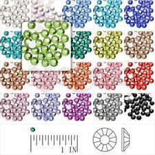 2.3x2.3mm Crystal Round Flat Back Rhinestones SS8 Nail Art Wholesale Non-Hotfix
