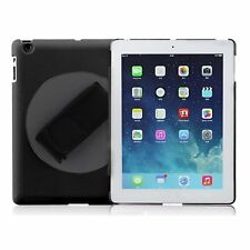 360° Rotating Handheld Hard Cover Case Skin with Hand Strap For Apple iPad 2 3 4