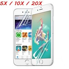 20/10/5x  Ultra Clear Front + Back HD Screen Protector Film for iPhone 6 6S Plus