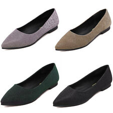 Women Flats Sequin Slip On Loafers Poited Toe Flats Oxfords Ballet Shoes