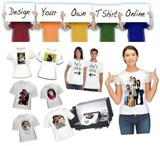 Design Your Own Personalised Custom Printed T-Shirt Hens Stag Party Present