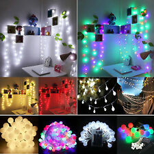 Christmas Battery/Solar/Main Powered LED String Lights Wedding Party Home Garden