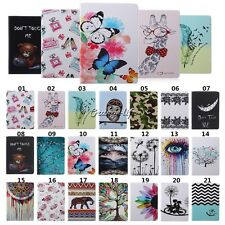 Flip Stand Smart Case PU Leather Card Pouch Gel Cover Shockproof For Apple iPad