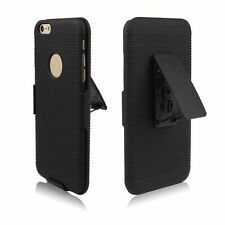 NEW Hybrid Hard Case Cover + Belt Clip Holster Stand for Apple iPhone 6 /6 Plus