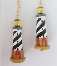 Lighthouse Nautical Decor Ceiling Fan Pulls Chain Pulls