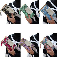 Fashion Women Ladies Clutch Wallet Long Coin Credit Card Holder Purse Handbag