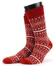 Mens Corgi Wool Fairisle Socks