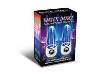 LED Dancing Water Music Fountain Light Speakers For Computer Laptop Tablet PC