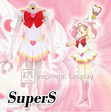 Sailor Moon SuperS Chibi Chibiusa Uniform Dress Cosplay Costume Full Set