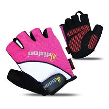 New Mens Half Finger Cycling Gloves Bike Bicycle Gel Silicon Fingerless Sports
