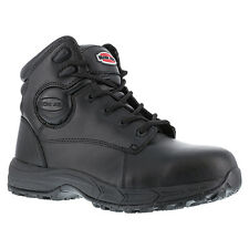"New Iron Age IA5150 Men's Ground Finish 6"" Sport Boot Steel Toe Black All Sizes"