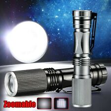 Cool Zoomable Ultra Bright 1000LM CREE LED Flashlight Torch Focus Light Lamp AA