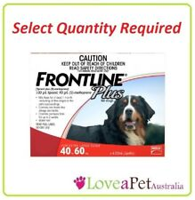 Frontline Plus flea/tick treatment for EXTRA LARGE dogs 40-60kg