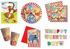 Winnie the Pooh Birthday Party Supplies - Tableware & Decorations - Choose Item