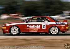 Mark Skaife 6x4 or 8x12 photos V8 Supercars NISSAN SKYLINE BATHURST 1992 R32