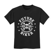 Future Biker - Son of a Biker Gift Idea Unisex Cool Kids T-Shirt Novelty