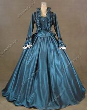 Civil War Victorian 2PC Suit Gown Period Dress Reenactment Theater Clothing 170