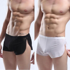 1x Men's Sexy See Through Mesh Boxers Shorts Briefs Underwear Summer Cool Favors