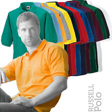 Russell J539M Mens Classic Polycotton Pique Polo Shirt (14 Cols)