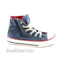 Shoes Converse All Star CT Side zip Hi 643942C Junior navy Red limited Canvas