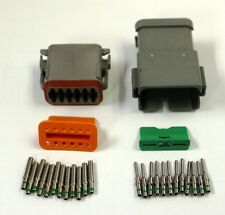 Deutsch DT 12 Pin Connector Kit 14-20 GA Solid Contacts